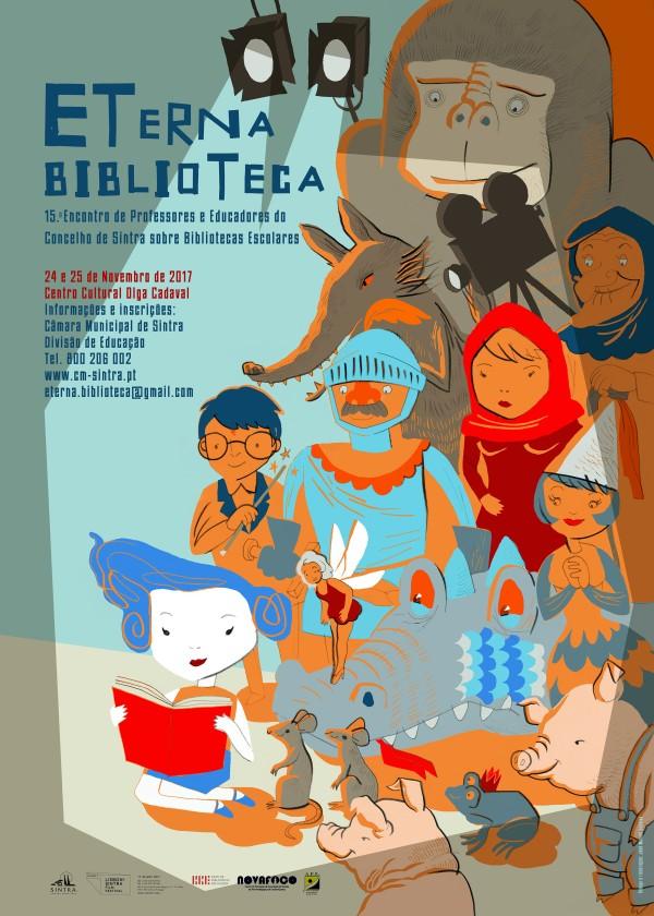 Cartaz 2 ETerna Biblioteca 2017 2 A4